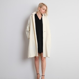 Soft Cashmere Coat / IVORY