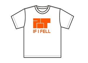 POT×IF I FELL コラボTシャツ