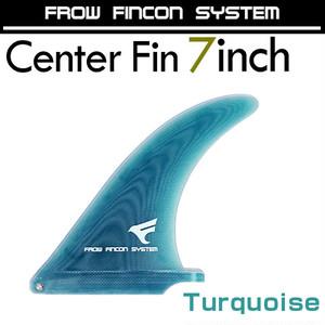 ★フィン★ピボットFIN7インチ★ターコイズ