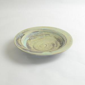 天平の甍 スープ皿 大堀焼京月窯