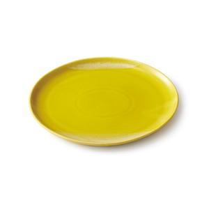 「Itsumo いつも」 おいしくもれる カフェプレート 皿 長幅23cm YE 美濃焼 262032