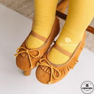 «sold out» fringe flat shoes フリンジ フラットシューズ