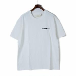 FEAR OF GOD(フィアオブゴッド)FOG - Fear Of God Essentials ロゴ Tシャツ カットソー ホワイト S[全国送料無料] r015157