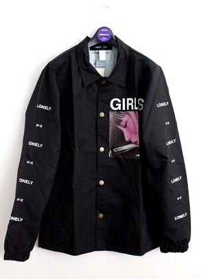 LONELY論理#9 GIRLS GIRLS GIRLS NYLON COACH JK / BLACK