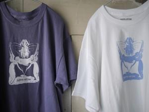 FUCKINGAWESOME / Angel Wand Tee ( Violet / White )