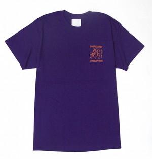 """FREEDIVING"" T-Shirts (Purple)"