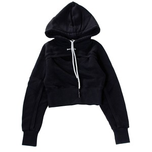 PALM ANGELS Short Hoodie Women's