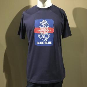 BLUEBLUE トリコアンカー BLUE BLUE Tシャツ NAVY