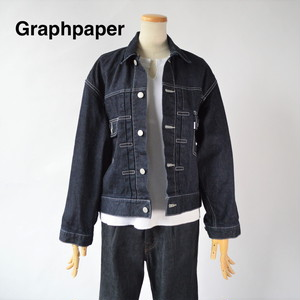 Graphpaper/グラフペーパー:Denim Jacket /GL201-GL201-30158B