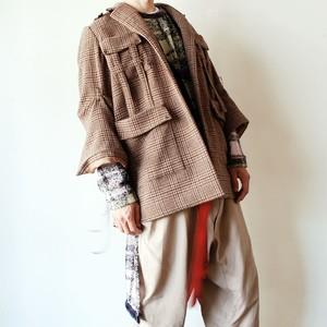 """""""KAORU ZHOU"""" 1off hunting jacket"""