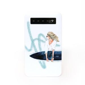 サーフィン《モバイルバッテリー》
