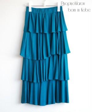フリルのスカート