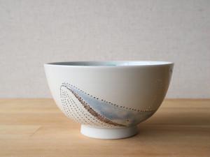 【サマーセール】シロナガスクジラ ご飯茶碗 大