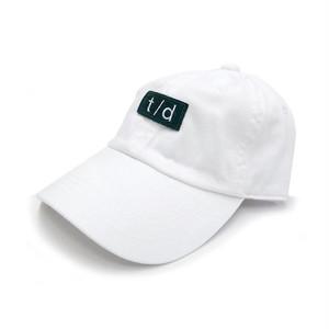 THURSDAY - t/d WASHED CAP (White)