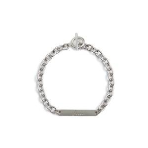Plate chain bracelet