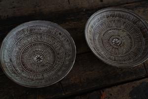 井上 茂 / 印花三島5.5寸皿