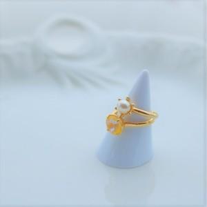 layered ring set