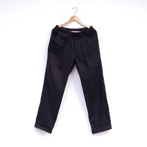 comm.arch. LINEN EASY TROUSERS 再入荷