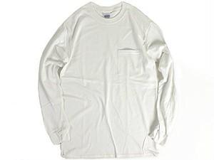 GILDAN [ギルダン] ポケットロングスリーブTシャツ