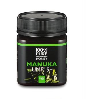 100% PURE NEW ZEALAND HONEY マヌカハニー UMF 5+