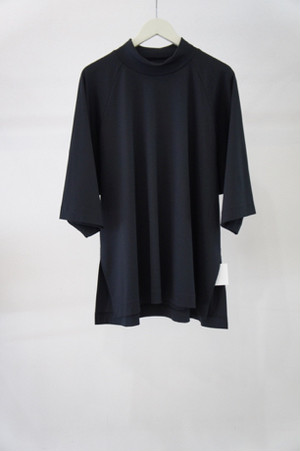 highneck knit -BLACK- / VUy