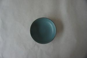 眞砂眞砂子 豆小皿 ブルーグリーン