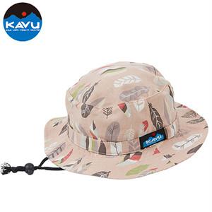 KAVU カブー コットン バケットハット/Fether