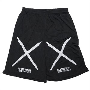 """deathsight"" MESH SHORTS"