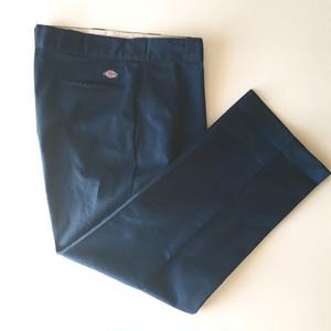 Dickies: wide size work pants / TALON zip (used)