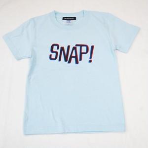 SNAP! Tシャツ キッズサイズ サックスブルー
