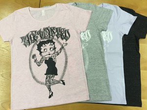 【THE WASTED】Tattoo Girl T-shirt Girls