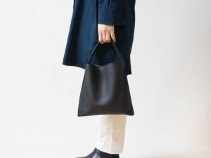 【受注製作】Mini Holiday bag レザーブラック