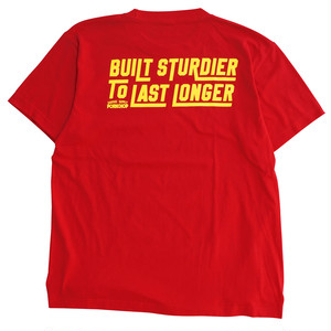 BUILT STURDIER TEE/RED