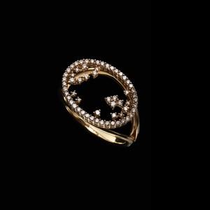 jewelG <Modernity> リング K18/ダイヤモンド