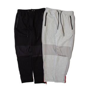 NINE RULAZ LINE : Sweat and Nylon Combi Pants