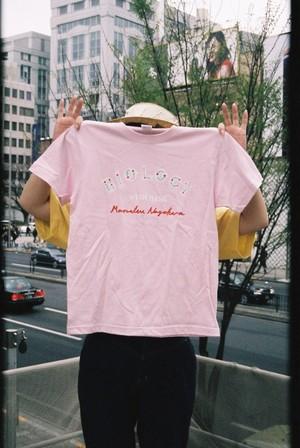 おみやげバイオロジーTシャツ(ライトピンク)