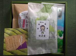 松江煎茶・粉末緑茶・ブレンド茶の詰合せ