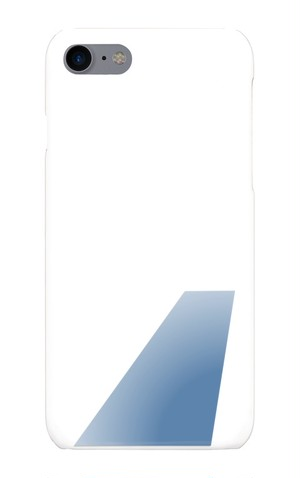 【iPhone7】Blue Tail phone case 【スマホケース】