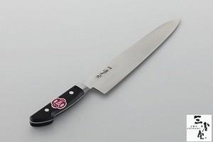 牛刀 源光金 日本鋼 黒合板共口金 240mm
