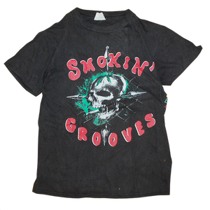 """1996 Smokin' Grooves Tour"" Vintage Rap Tee Used"