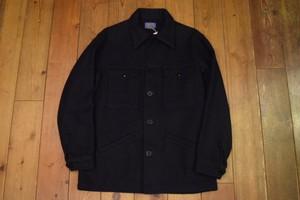 USED 美品 USA製 ペンドルトン ウールジャケット L ネイビー
