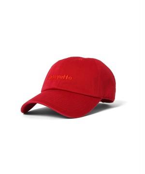 """Lafayette(ラファイエット)""""LFYT エルエフワイティー LAFAYETTE LOGO DAD HAT""""[RED]"""