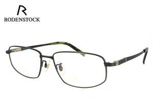ローデンストック 眼鏡 メガネ 日本製 RODENSTOCK R0123 C チタン メンズ 男性用 眼鏡 バネ蝶番 exclusiv エクスクルーシブ
