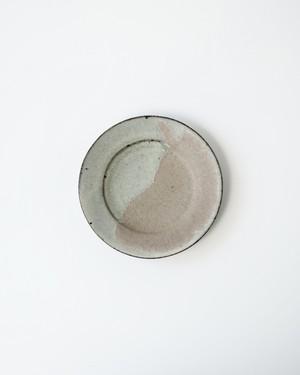 小林徹也 / 6.5寸リム皿 (粉引)