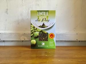 緑レンズ豆 ドライ 500g, ル・ピュイ産