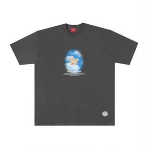 【PARAGRAPH】ベビープリントTシャツ:チャコールグレー