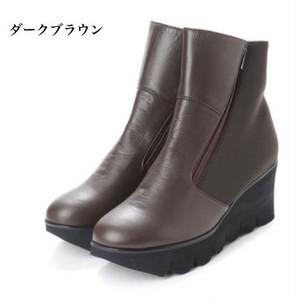 ウェーブソール ストレッチコンビダブルファスナーブーツ 【 送料無料 】