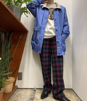 1980s be in the current seen windbreaker 【S】