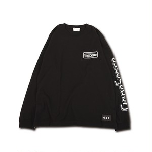 GOODSPEED equipment EVILACT(イーブルアクト) / GOODSPEED equipment Logo L/S T's(black)