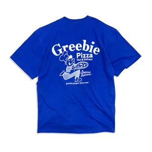 Pizza shop S/S shirts【Blue】